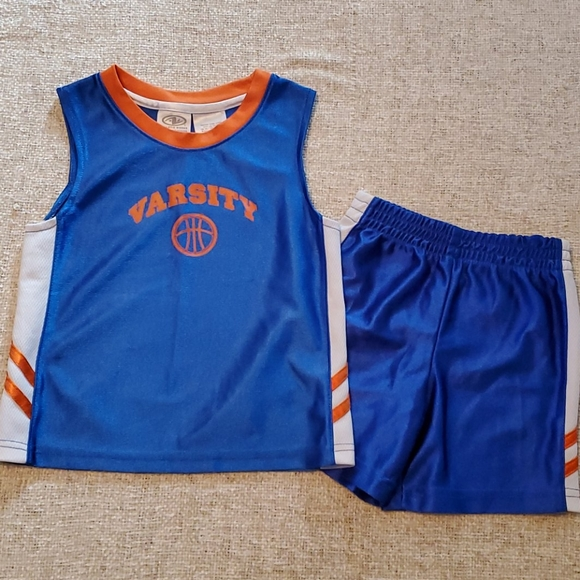 Athletic Works Other - Boys 3T Varsity Tank and 18m shorts